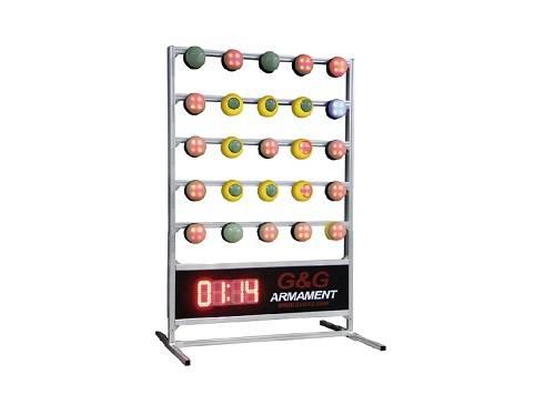 Target system 5 x 5 - timer inclus ( body + base )