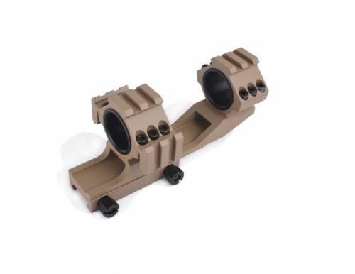 Tri-side rail 254mm / 30mm mount base - desert