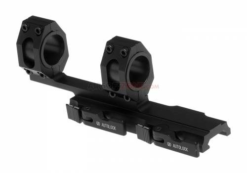 Tactical top rail extended mount base - 254mm / 30mm