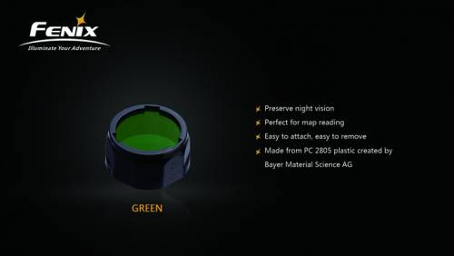 Filtru adaptor aof-s - verde