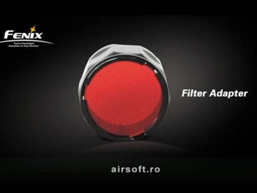 Filtru adaptor (rosu)