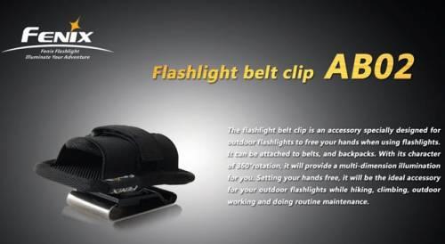 Suport lanterna pentru curea ab02