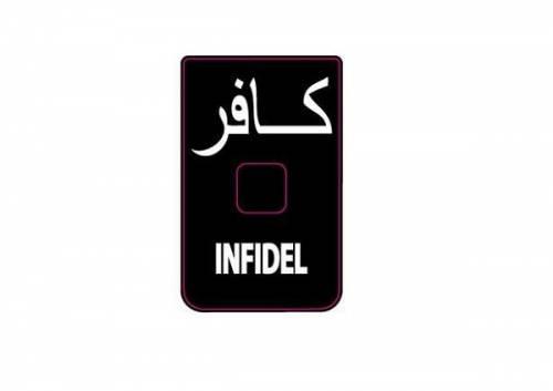 Abtibild - mesaj infidel - pentru incarcator cz scorpion evo iii - set 3 buc