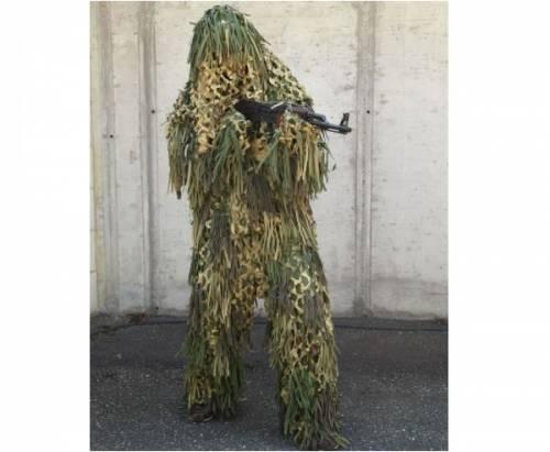 Costum ghillie - jungle camo
