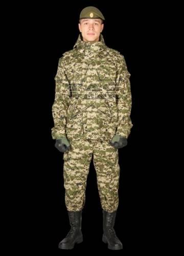 Costum model knight - camuflaj green digit