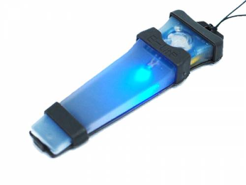 E-lite - safety light - blue