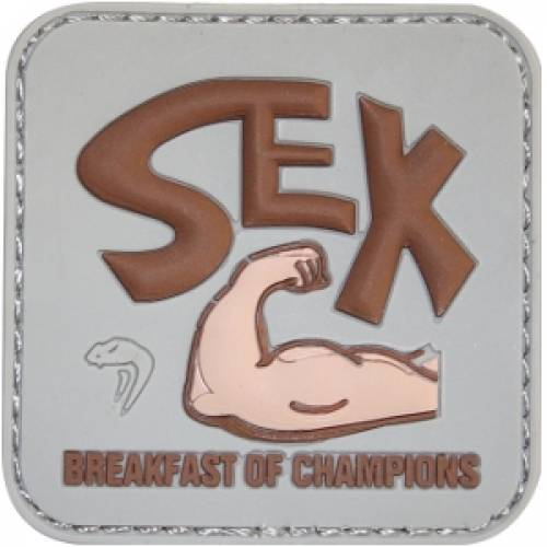 Patch mesaj - breakfast of champions