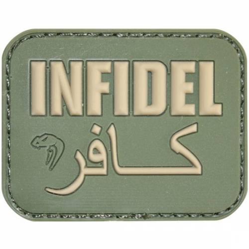 Patch mesaj - infidel - green