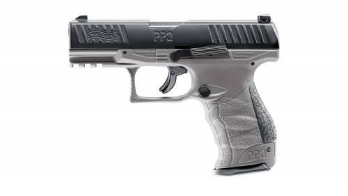 Walther ppq m2 t4e - cal43 - co2 - tungsten gray