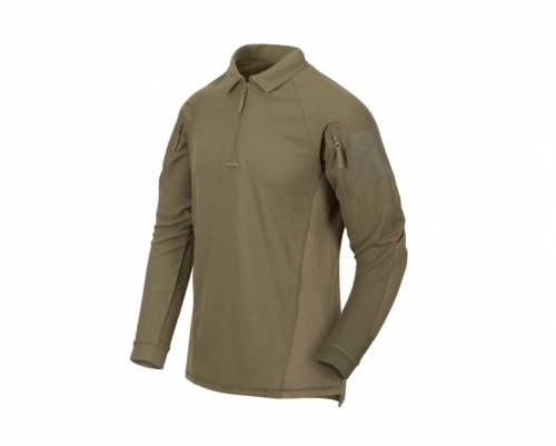 Tricou cu maneca lunga range polo - adaptive green
