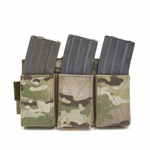 Emp triple elastic magazine pouch - multicam