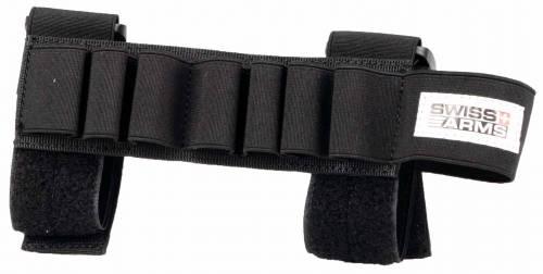 Port de 7 cartuse din cordura pt shotgun - black