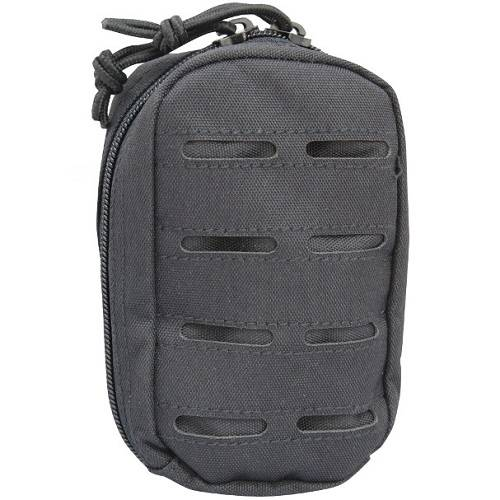 Pouch utility - laser cut - small - blk