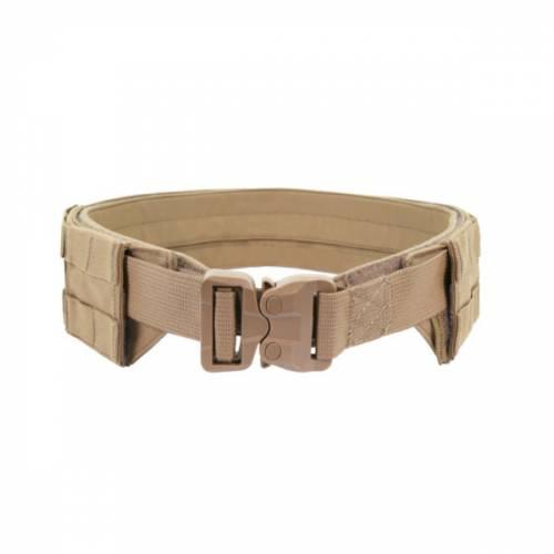 Low profile molle belt - coyote tan - with plastic cobra belt