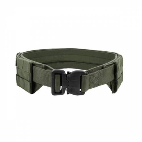 Low profile molle belt - od green - medium - with plastic cobra belt