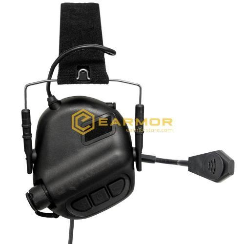 Antifoane active model m32 tactical mod3 plus comunicatie - black