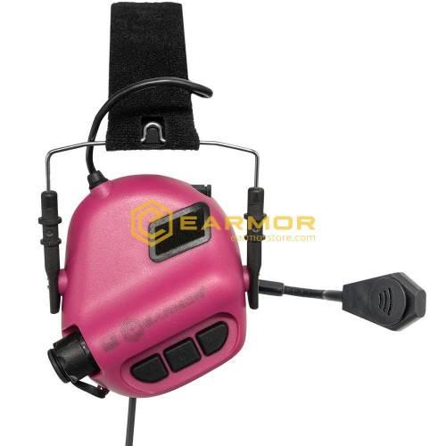 Antifoane active model m32 tactical mod3 plus comunicatie - pink