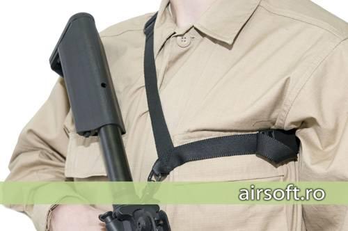 Curea model trooper (negru)