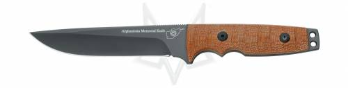 Afganistan memorial knive design by hill knives