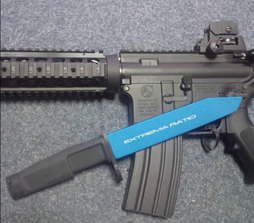 Training knive / cutit pentru antrenament - fulcrum bayonet