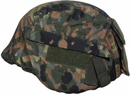 Helmet cover - flecktarn