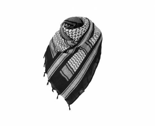 Fular model shemag - black