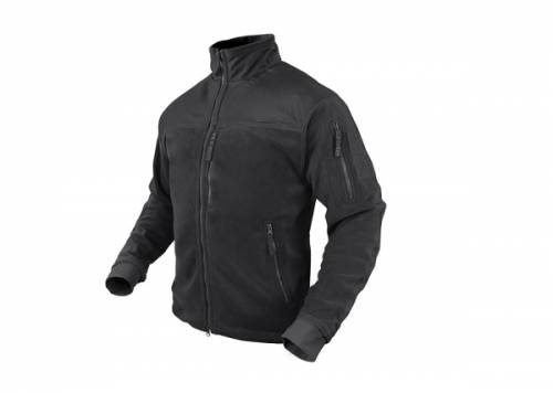 Jacheta fleece model alpha - black