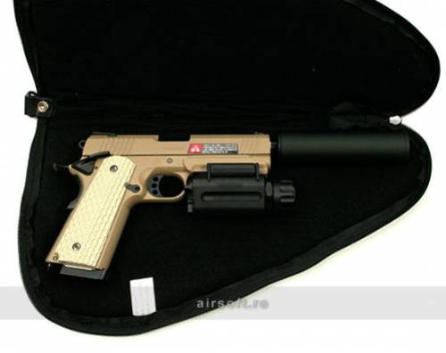 Geanta de transport pentru revolver (negru)