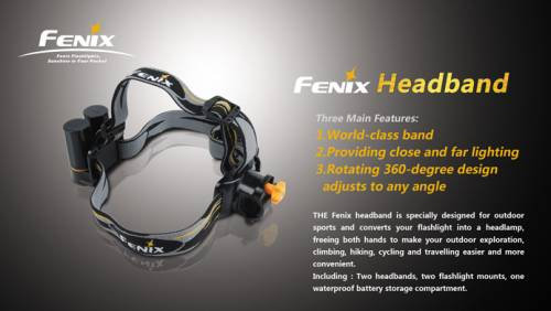 Banda elastica si accesorii pentru lanterna