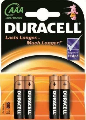 Baterie duracell aaa (r3) basic
