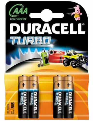 Baterie duracell aaa (r3) turbo max