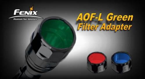 Filtru adaptor aof-l - verde