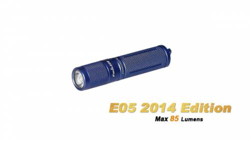Lanterna model e05 xp-e2 r3 - albastru - model 2014