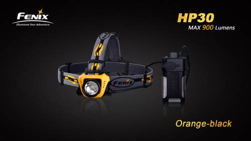 Lanterna frontala model hp30 xm-l2 - galben