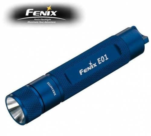 Lanterna model e01 - albastru