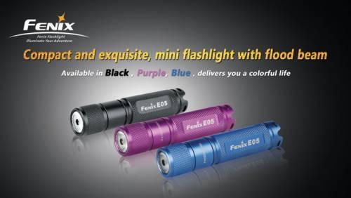 Lanterna model e05 xp-e - violet