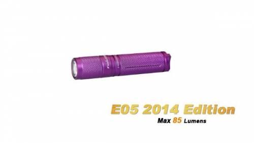 Lanterna model e05 xp-e2 r3 - violet - model 2014
