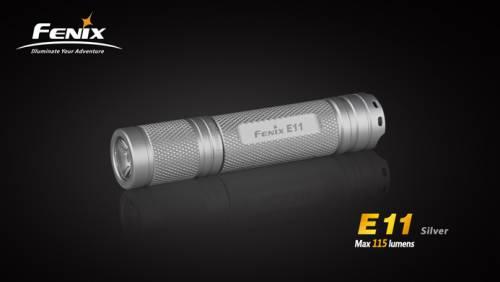 Lanterna model e11 xp-e - silver