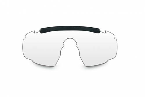 Lentila de rezerva pentru ochelarii cu protectie balistica model classic saber advanced