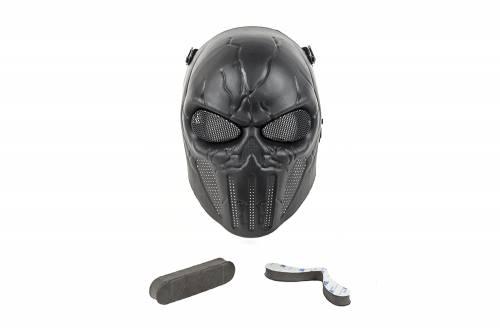 Masca completa model punisher - black