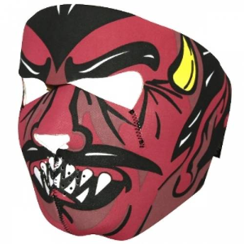 Masca de protectie din neopren - full face - devil