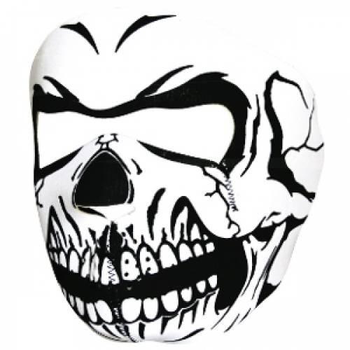 Masca de protectie din neopren - full face - skull