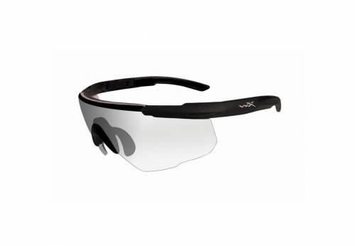 Ochelari cu protectie balistica model classic sabert advanced - clear matte - black frame