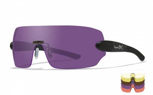 Ochelari cu protectie balistica model detection - clear/yellow/orange/ purple/copper - matte