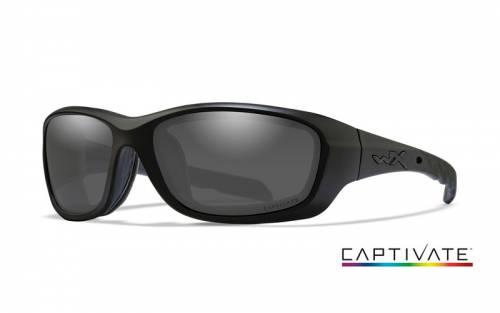 Ochelari cu protectie balistica model gravity captivate - smoke grey - matte black frame