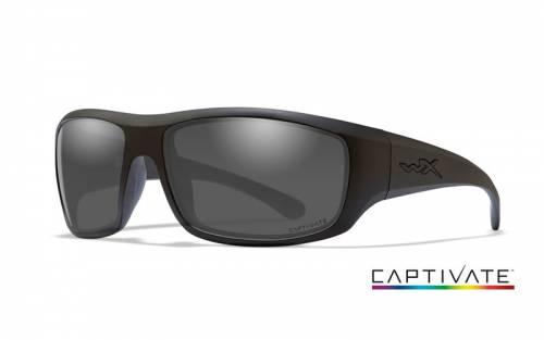 Ochelari cu protectie balistica model omega captivate - smoke grey - matte black frame
