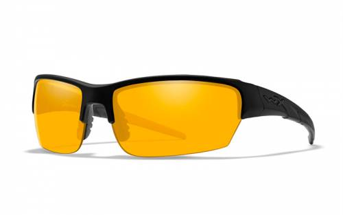 Ochelari cu protectie balistica model saint - grey/clear/light rust - matte black frame