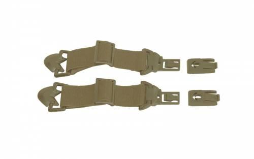 Spear arc - rail attachment system - curele ras pentru casca - tan