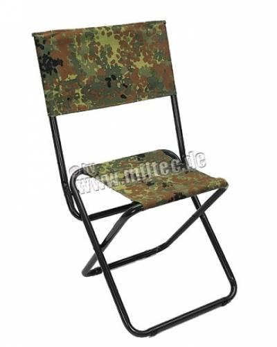 Scaun pentru camping - flecktarn