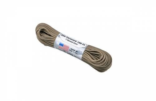 Snur paracord - 550lbs - coyote